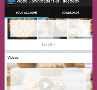Facebook Video Downloader Android Application