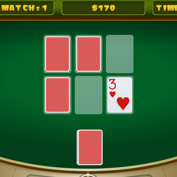 Casino Memory Card Games