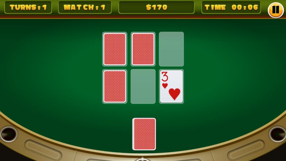 Casino Memory Card Games